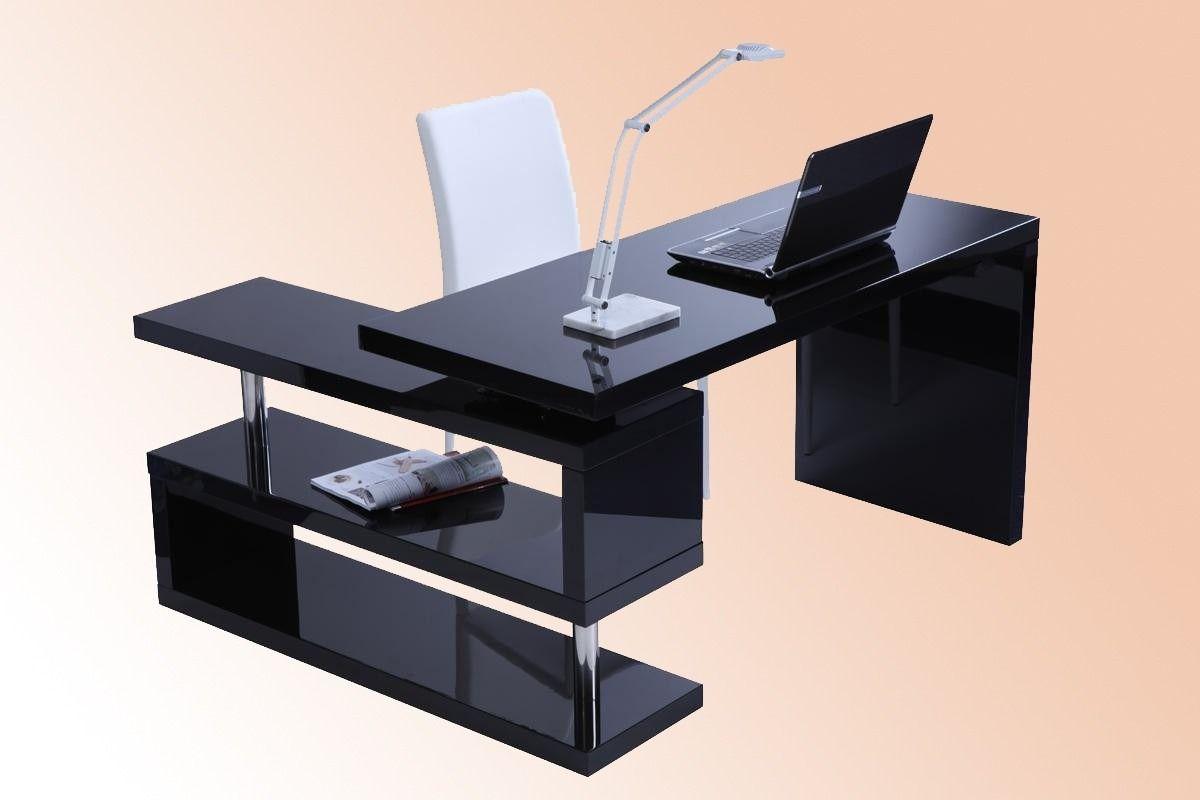 Escritorios modernos 02 casa pinterest escritorio for Diseno de muebles de oficina modernos