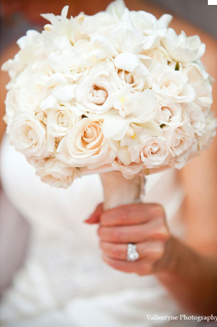 White Rose Gardenia And Orchid Bouquet Orchid Bouquet Wedding