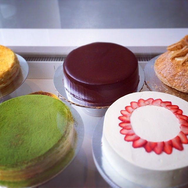 Lady M Cake Boutique Sweets The City Pinterest