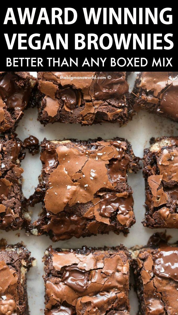 Best Ever Vegan Brownies (Gluten-Free!)