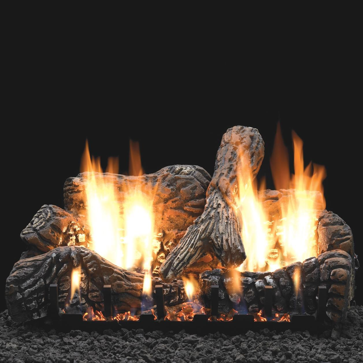 White Mountain Hearth By Empire 30 Inch Charred Oak Gas Log Set