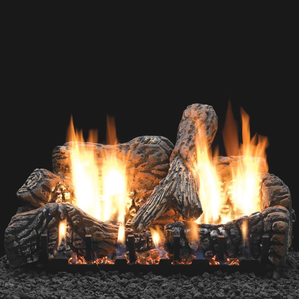 White Mountain Hearth By Empire 30 Inch Charred Oak Gas Log Set