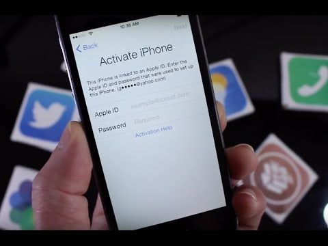 Remove iCloud Activation Lock on an iPhone X/ 8/ 7+/ 6