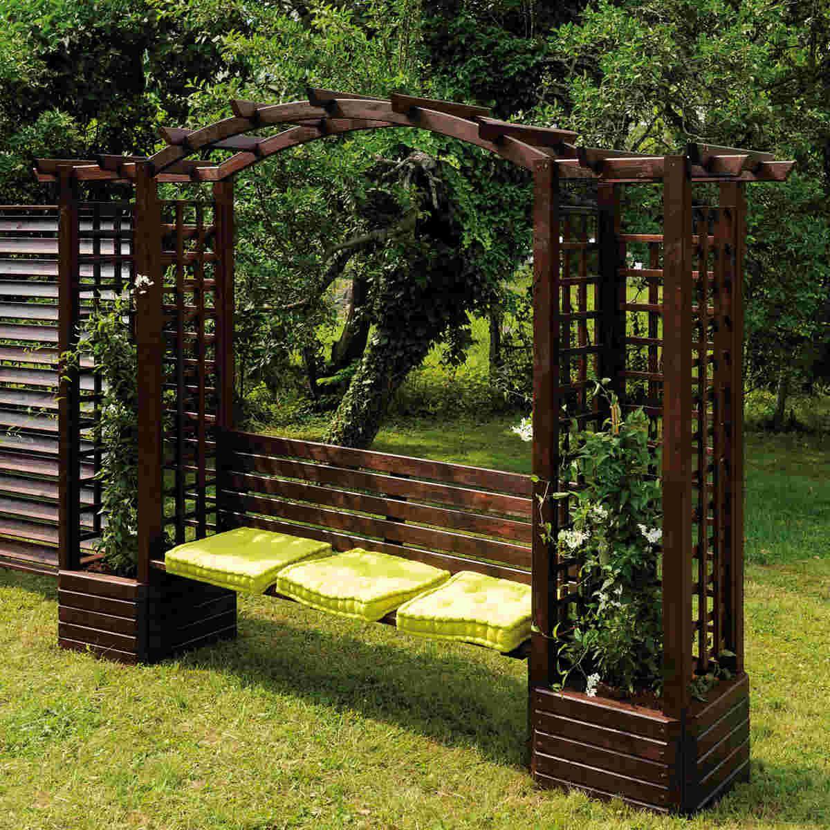 Resultado De Imagen Para Plywood Finished Patio Roofs Garden Arch Outdoor Pergola Pergola Patio Ideas Diy
