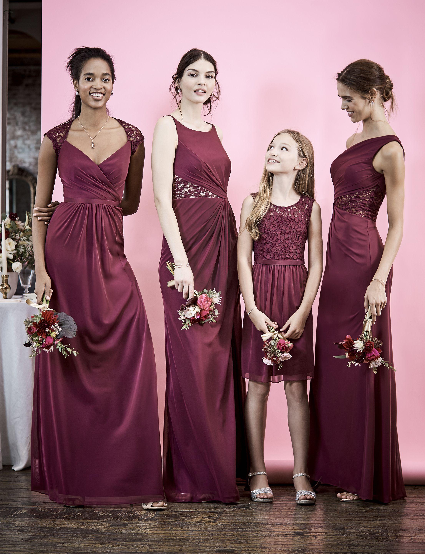 Long maroon bridesmaid dresses bridesmaids pinterest dresses bridesmaid long maroon bridesmaid dresses ombrellifo Choice Image