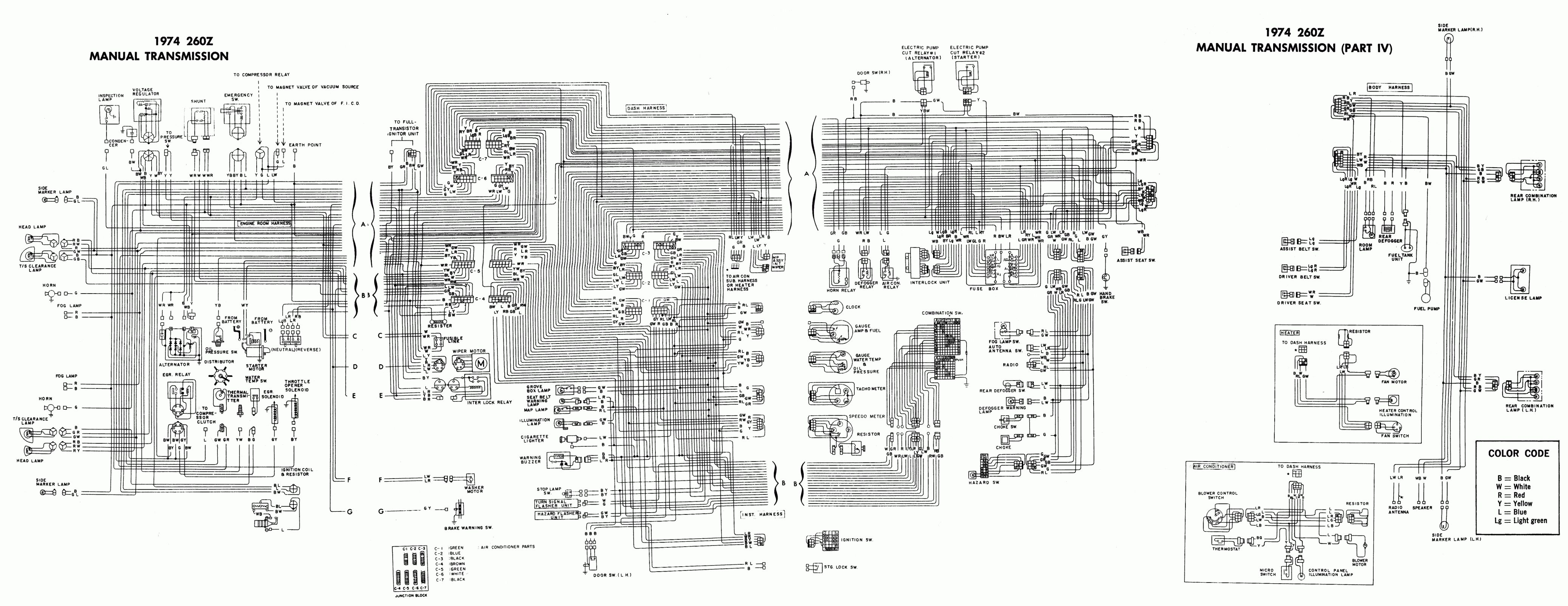 12  280z Engine Wiring Harness Diagram