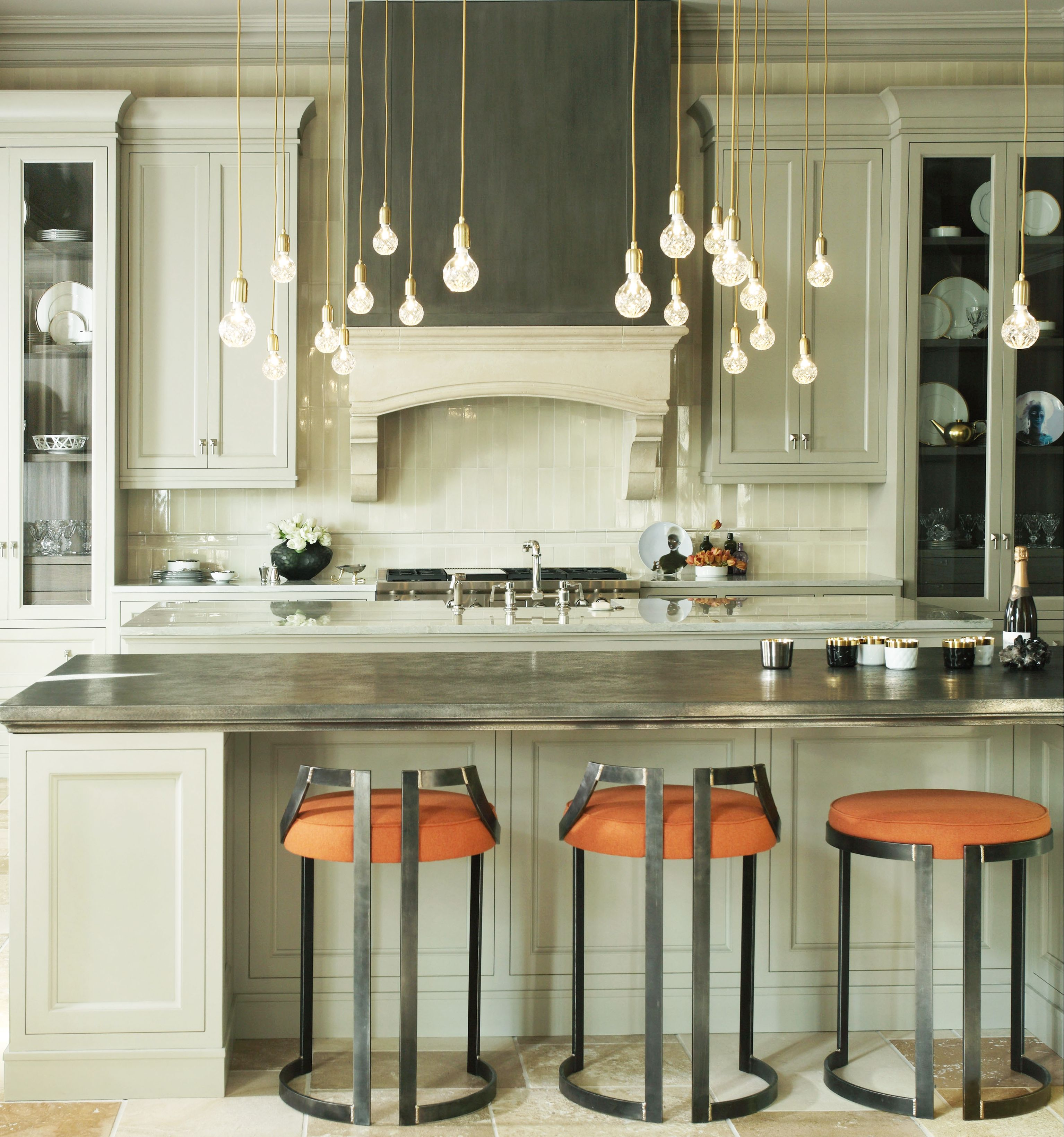 Home Decor Trend Pewter Countertops
