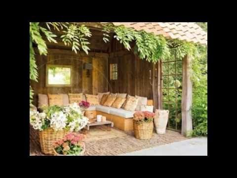 Ejemplo de peque os jardines y patios decorados video 3 de for Patios decorados
