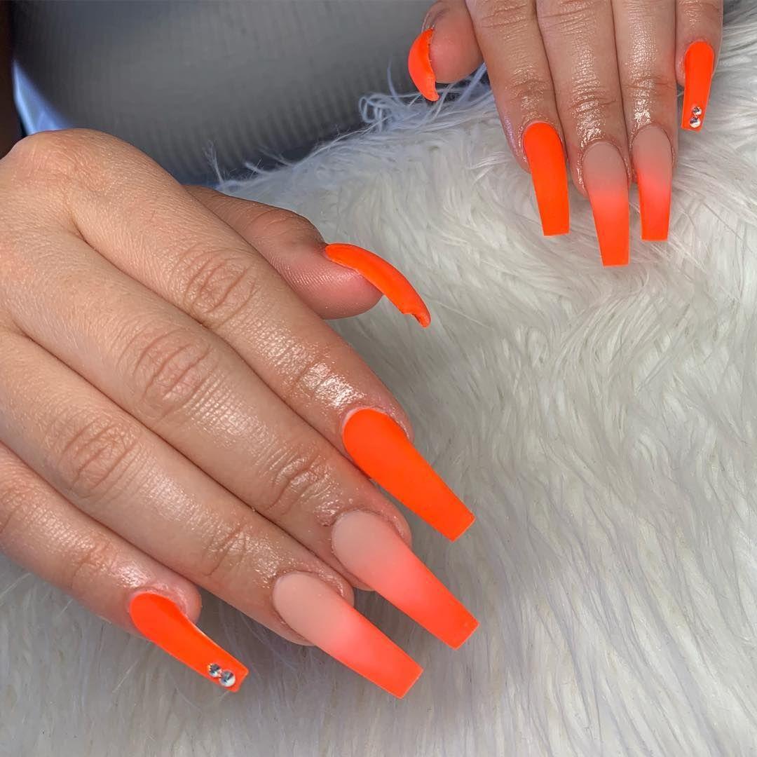 "Photo of Samantha Khuon on Instagram: ""🤤 • #nails #naildesigns #nailstagram #samanthas_nails_ #victorville #hesperia #losangeles #artistsoninstagram #ombrenails #fashion #trendy…"""