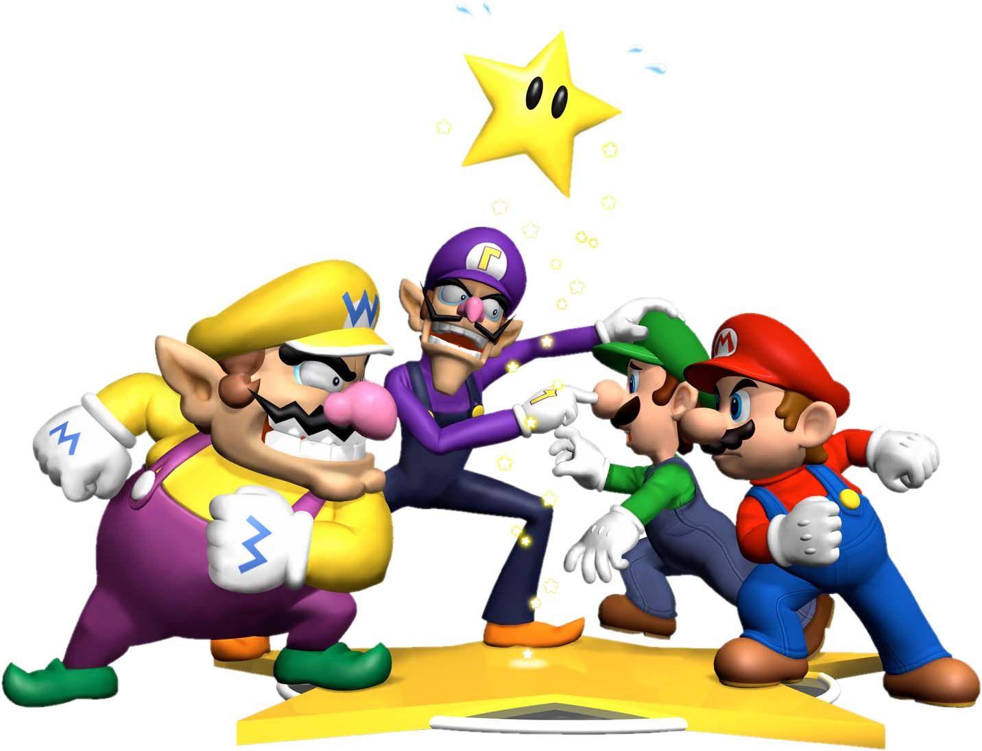 Mario & Luigi Vs. Wario & Waluigi