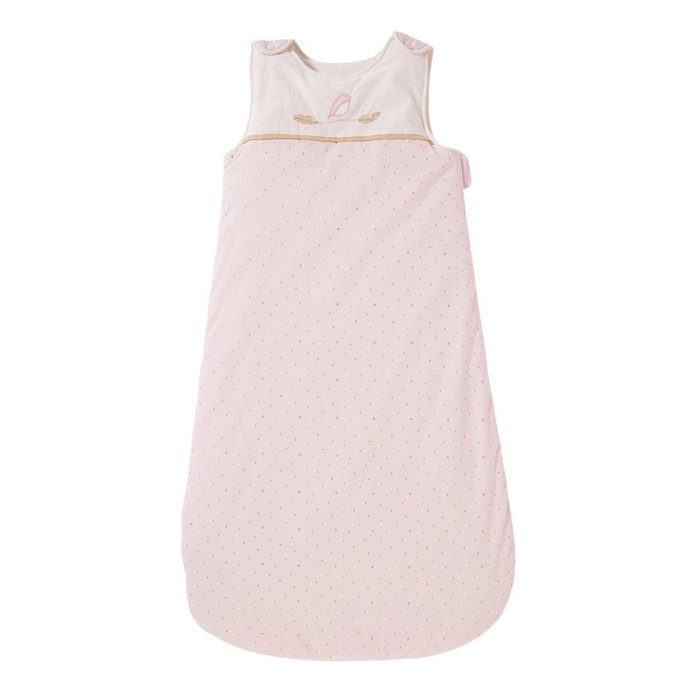 Pink Cotton Baby Sleeping Bag With Polka Dots Trending