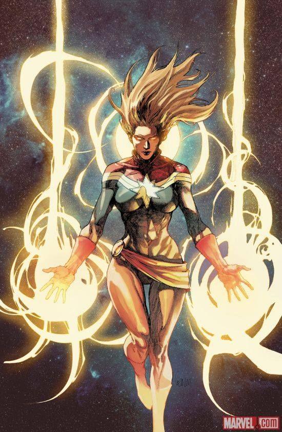 Image result for captain marvel comic art