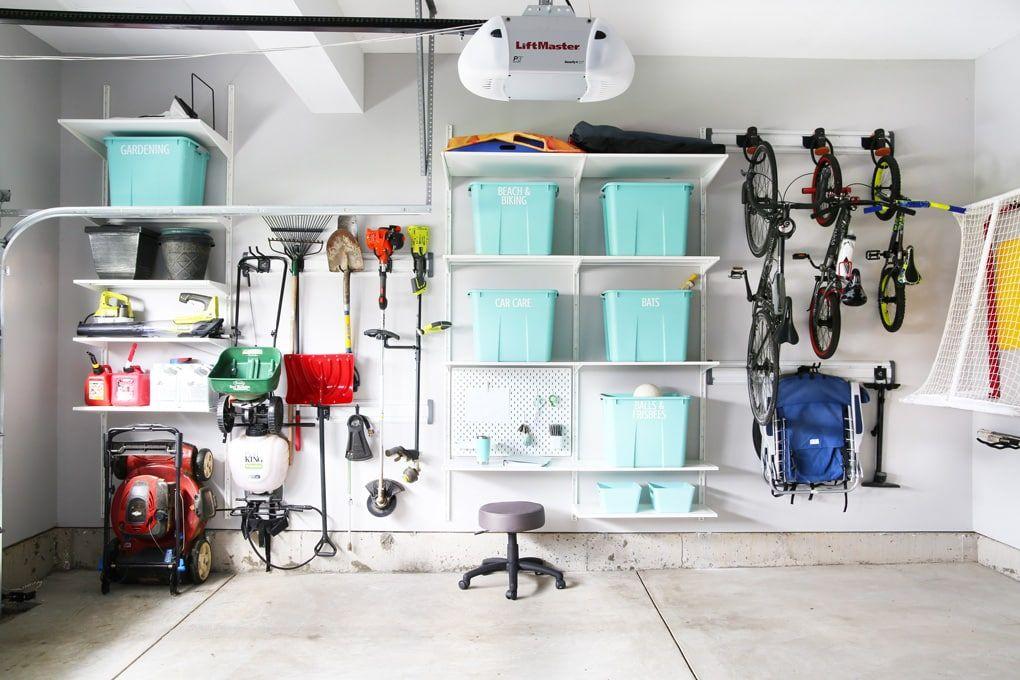 How to Organize a Messy Garage | Garage organization, Ikea ...