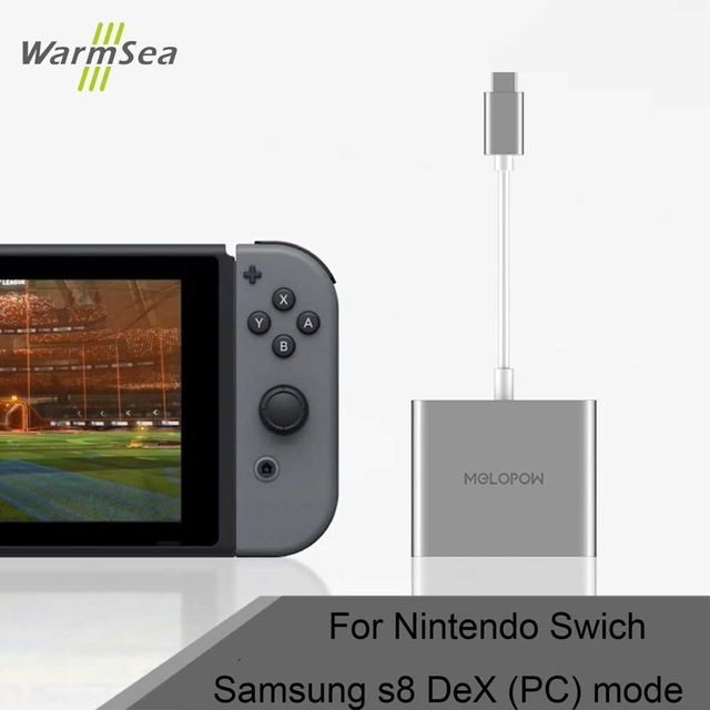 USB 3 1 Type C Adapter with HDMI for Nintend Switch dock