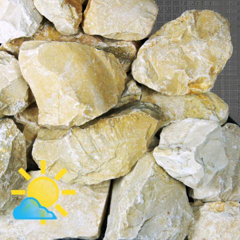 Yellow Sun Bruchsteine Gelb 32 56 Mm Bruchstein Steine Traufstreifen