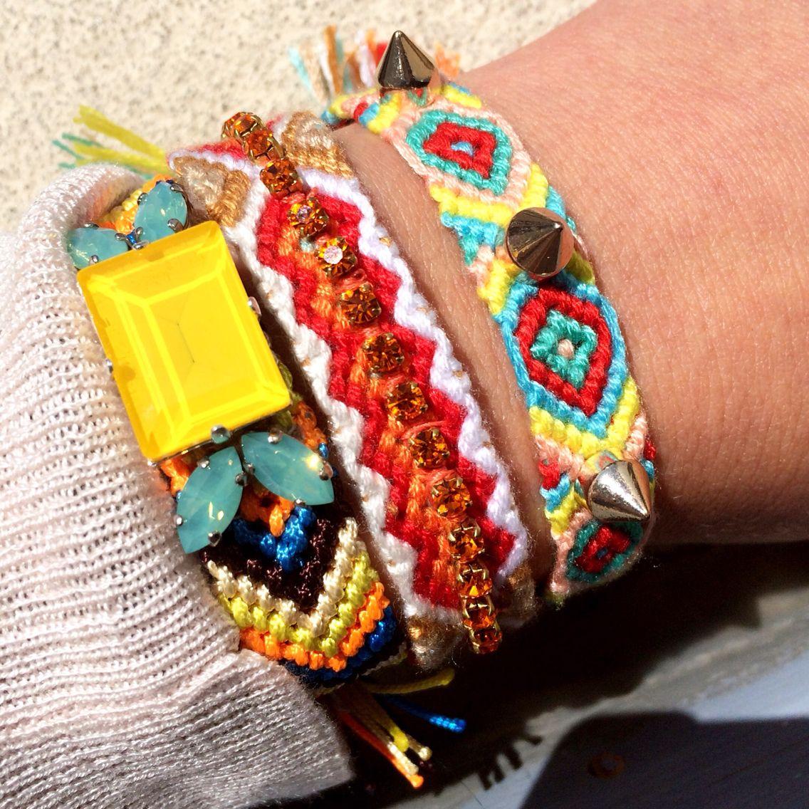 #friendship bracelets with #stones