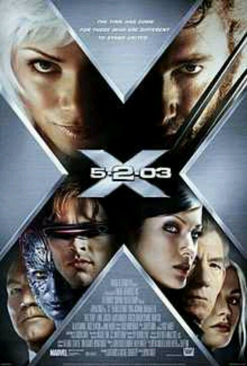 X-Men 2. I have a one sheet of this from my days working at a movie theater.