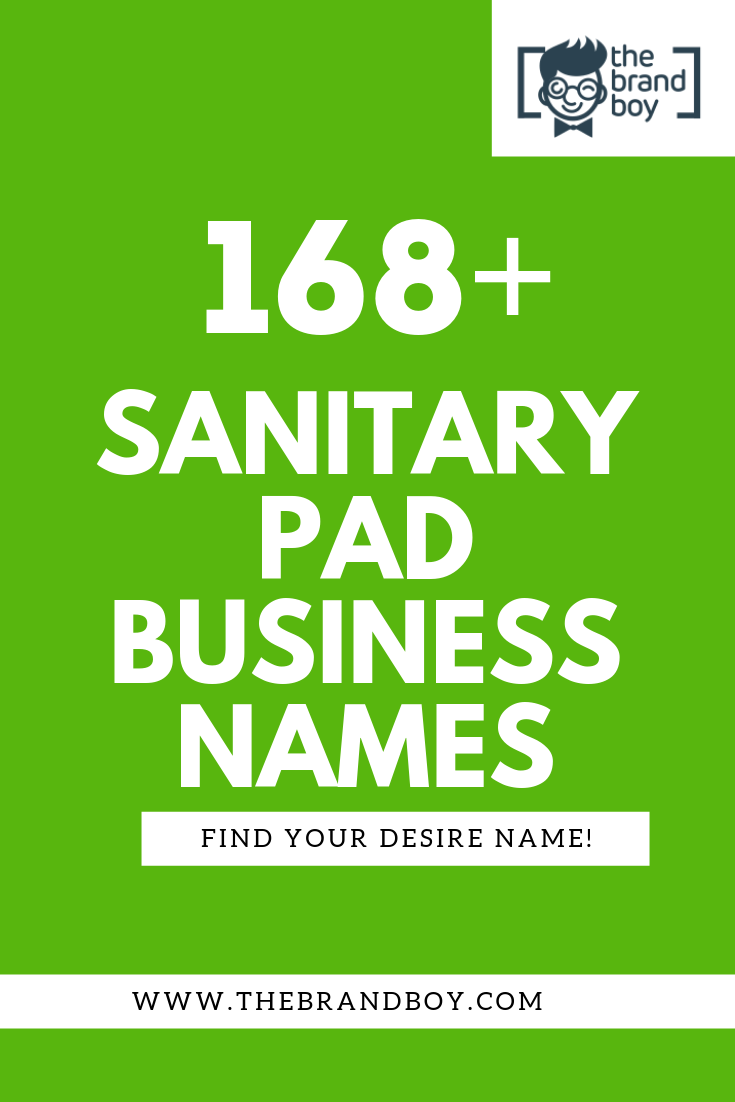 Sanitary Names : sanitary, names, Sanitary, Company, Names, Thebrandboy.Com, Pads,, Names,