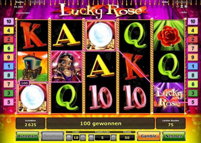 Lucky Rose im Test (Novoline) - Casino Bonus Test