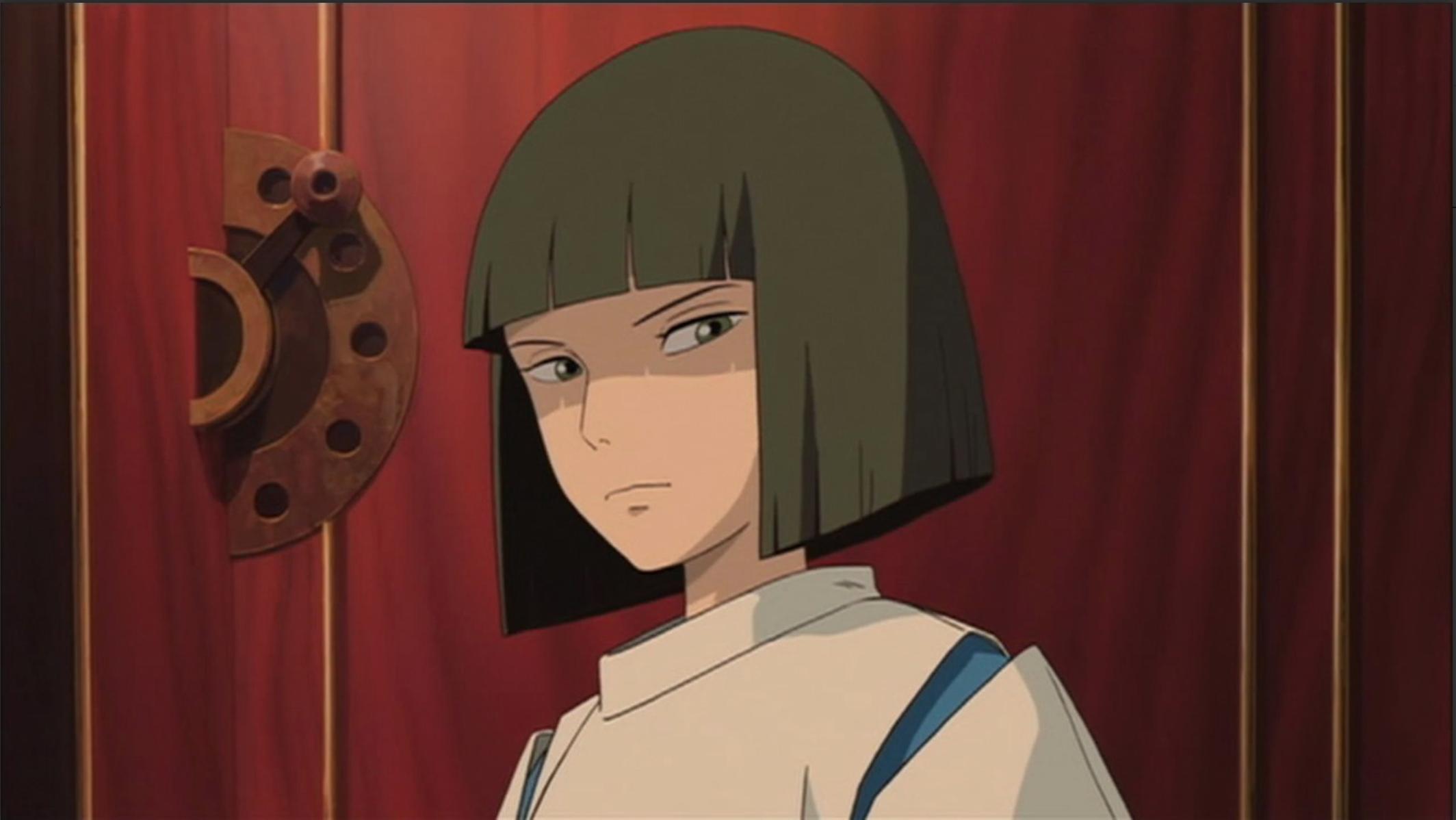Haku Speaks Sternly To Chihiro In The Elevator Spirited Away Studio Ghibli Art Studio Ghibli