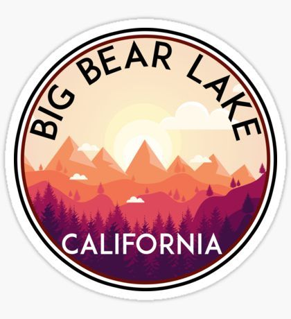 Big Bear Sticker