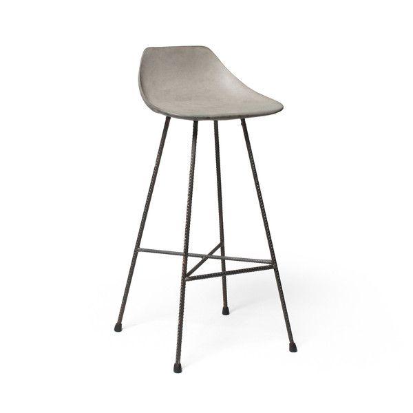Barhocker Hauteville 3 von Lyon Beton aus Frankreich. Designer-Möbel ...