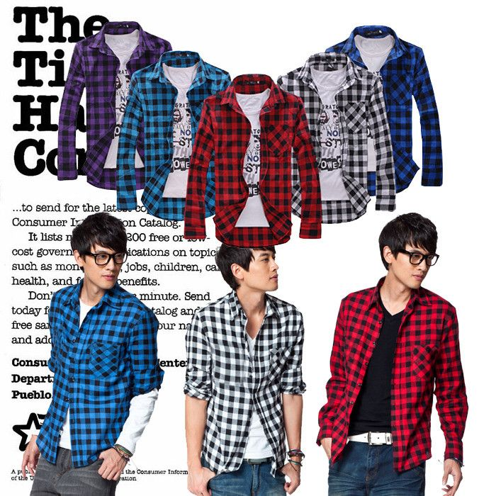 Find More Information about Korean fashion men cheap long sleeve ...