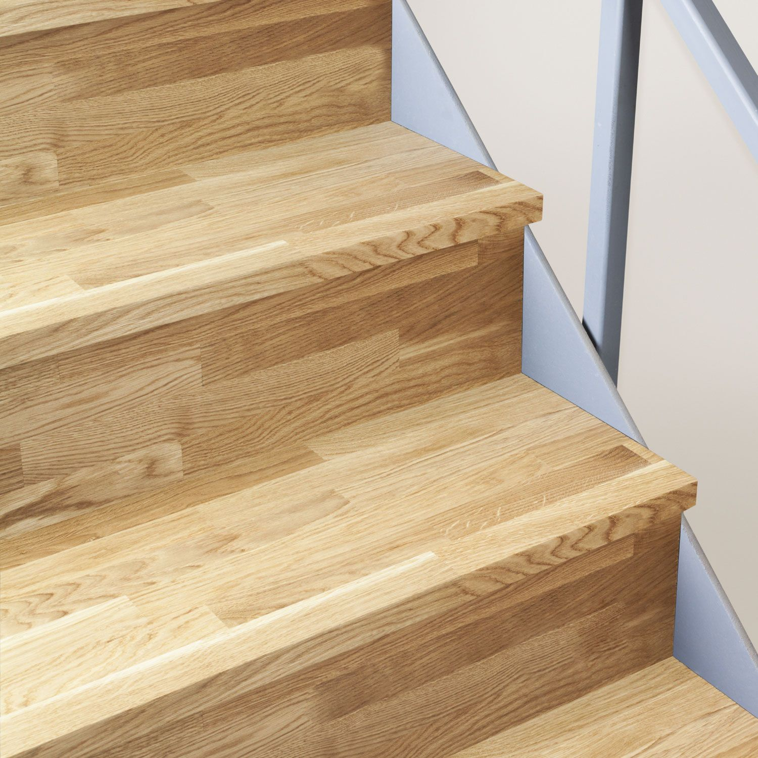 Best Solid Oak Timber Stair Cladding 995Mm Staircase Tread 400 x 300