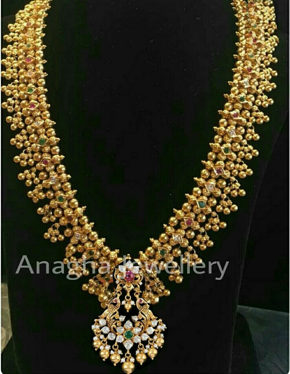 necklace sets jewellery wm indian gold mala
