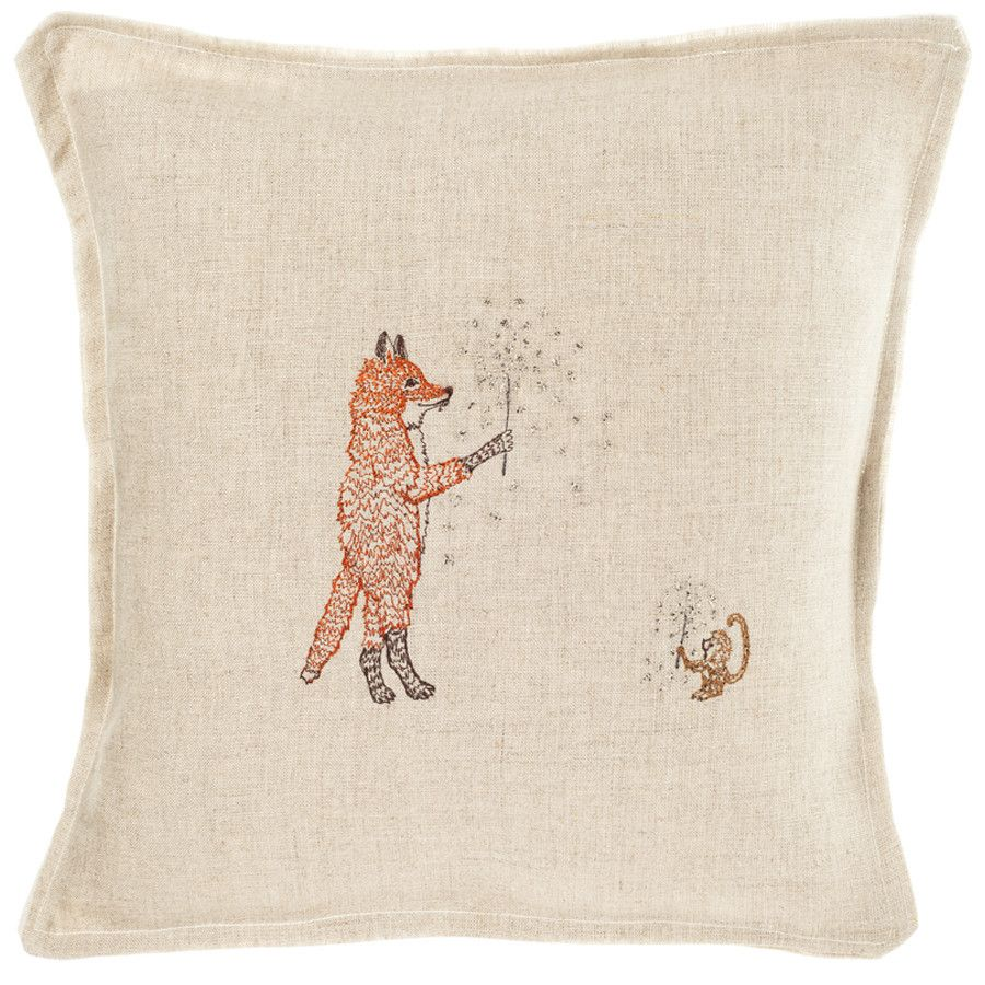 Coral and Tusk - sparklers pillow (with fox) | Critters ...