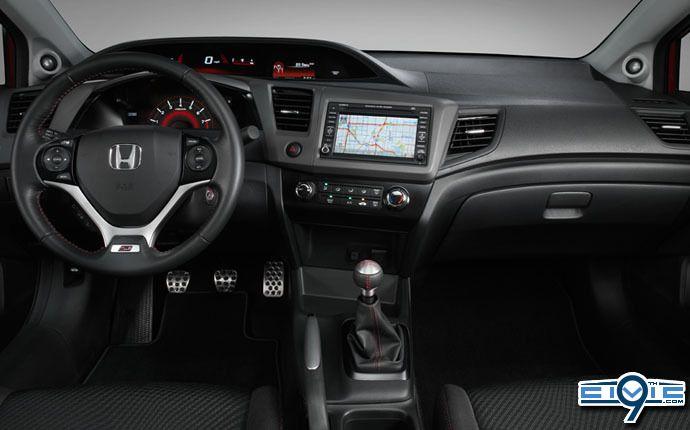 Delightful 2012 Honda Civic Si Interior