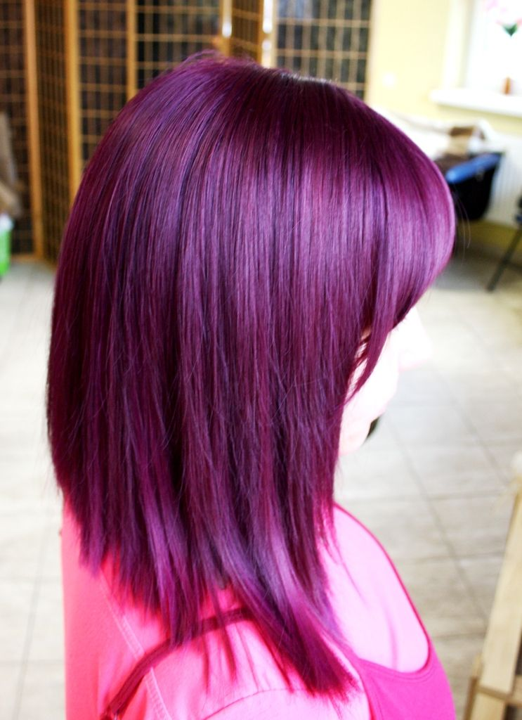 haircut and colour by me colour is made with elumen