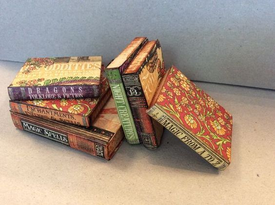 Mini books made from Rare Oddities from Diane's workshop #graphic45