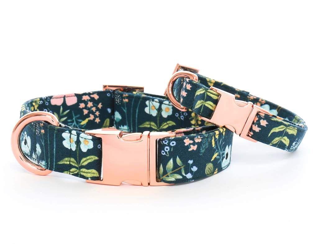 Herb garden dog collar cute dog collars pet collars