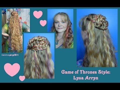 Game Of Thrones Style Lysa Arryn Hair Styles One Hair Cool Hairstyles