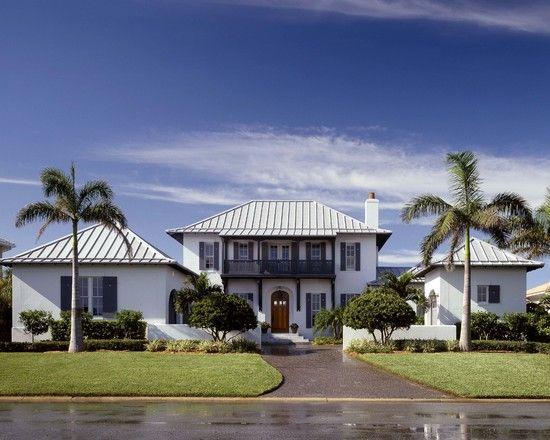 Traditional Exterior British West Indies Design Pictures Remodel
