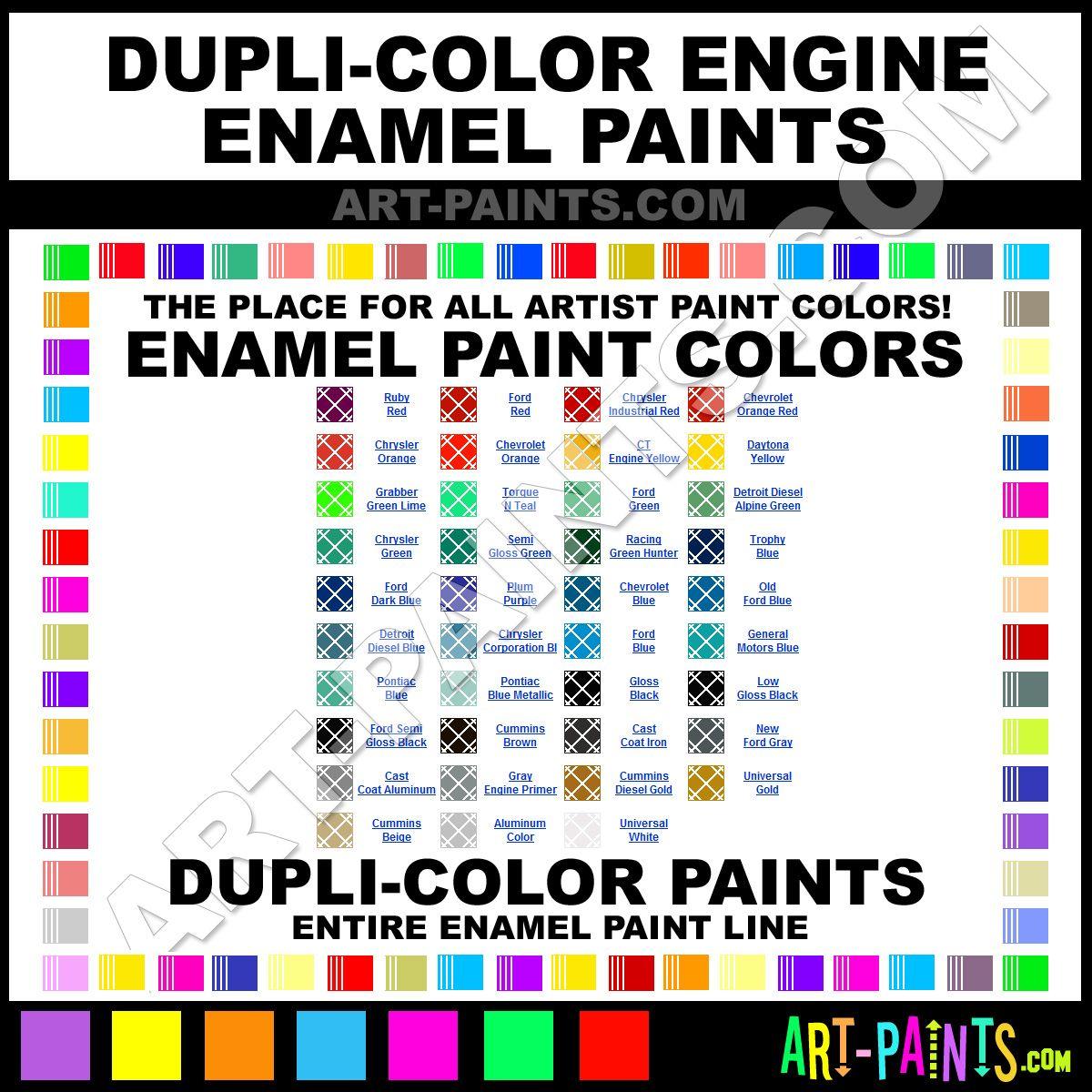 Dupli Color Color Chart Ibovnathandedecker