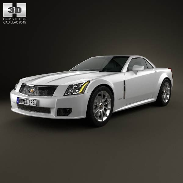 Cadillac XLR 2009 3d Model From Humster3d.com. Price: $75