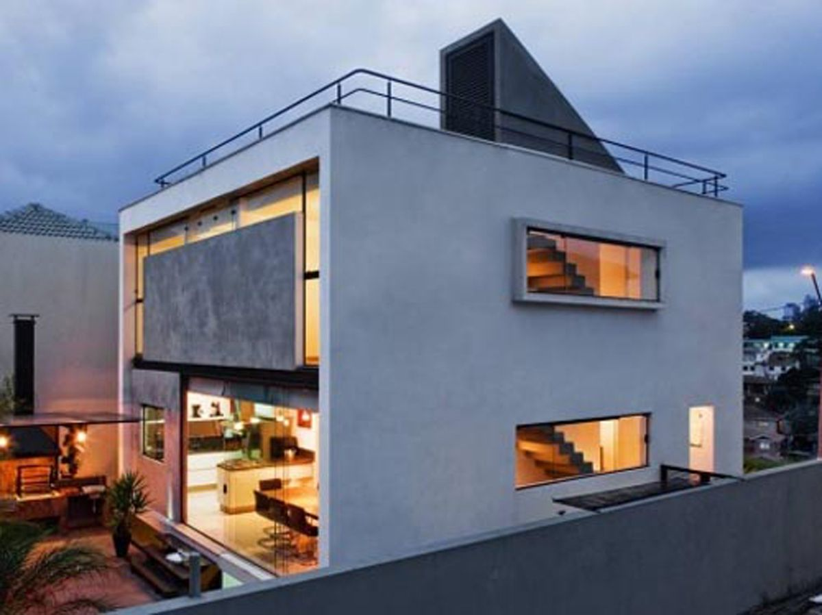 Glamorous Concrete House Designs For Your Design