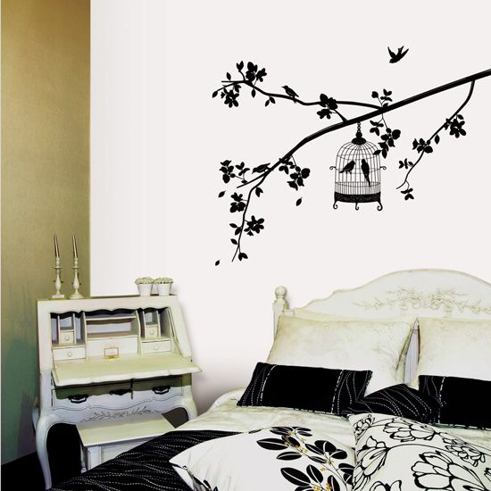 Wall Decals For Bedrooms: Wall Decals For Bedrooms Cool .