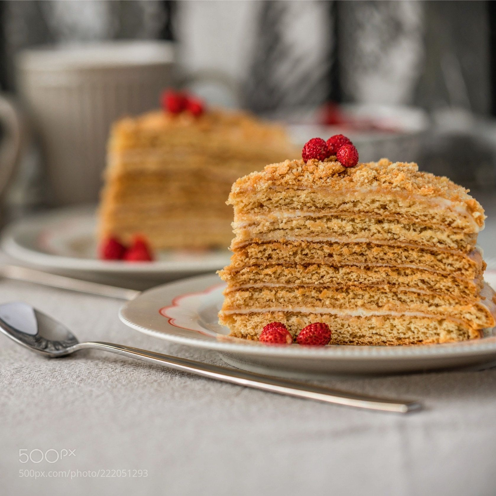 Honey layer cake. Cream cheese frosting. (Olga Photography / Moscow) #ILCE-7RM2 #food #photo #delicious