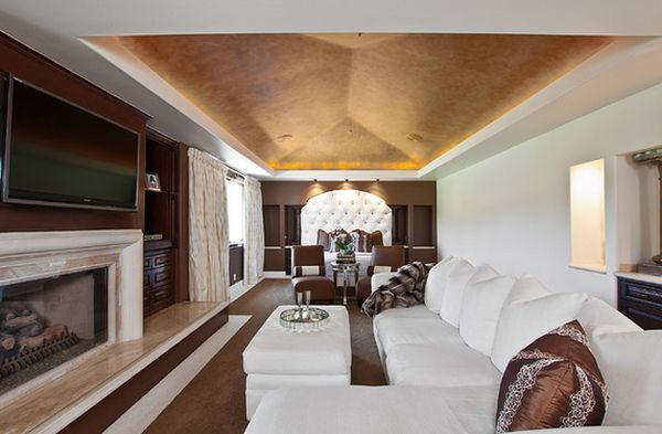 Glamorous Lighting Ideas That Turn Tray Ceilings Into Architectural