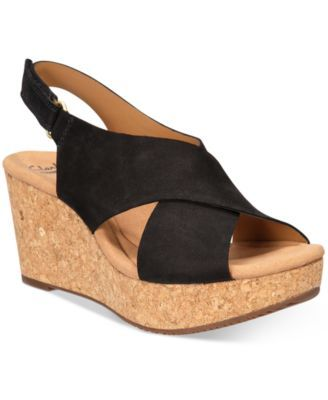 5f96c61f93e Clarks Collections Women s Annadel Eirwyn Wedge Sandals