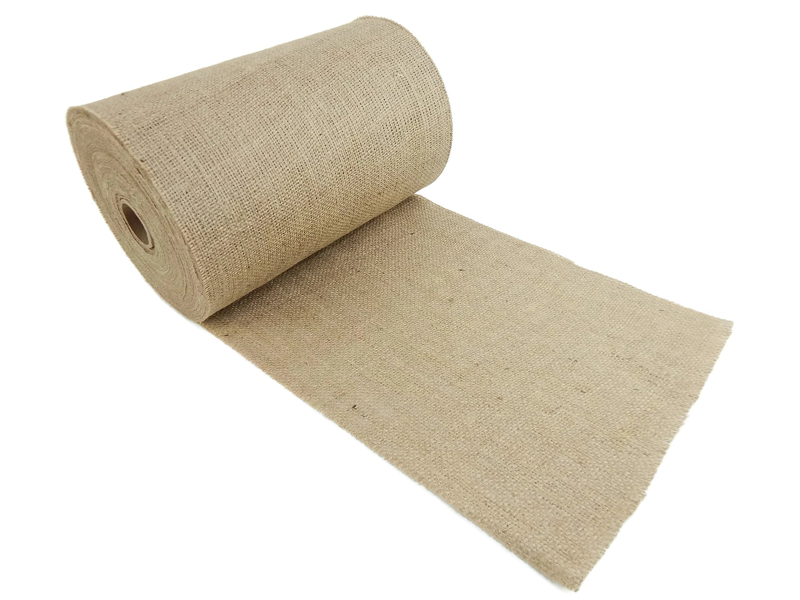 Burlap And Beyond 12 Natural Burlap Roll 100 Yards Ecofriendly Jute Burlap Fabric Unfinished Edges 12 Inch Check This Awesome Product By Going To The Link