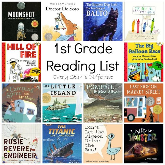 1st Grade Reading List And Free Book Report Printable