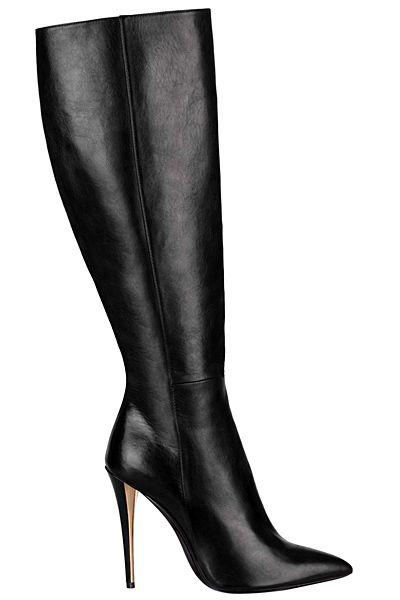 b69c1ceb Details about YSL Yves Saint Laurent Tribtoo Black Leather Platform ...