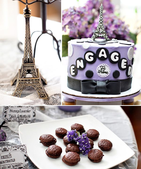"""Engagement Party Ideas: """"Springtime In Paris"""" Engagement Party- Who Says A Chic"""