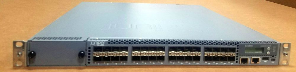 Juniper Ex4550 32f Afo Juniper Ex4550 Switch 32 Port 1 10g Sfp Juniper Juniper Networks Power Supply Power