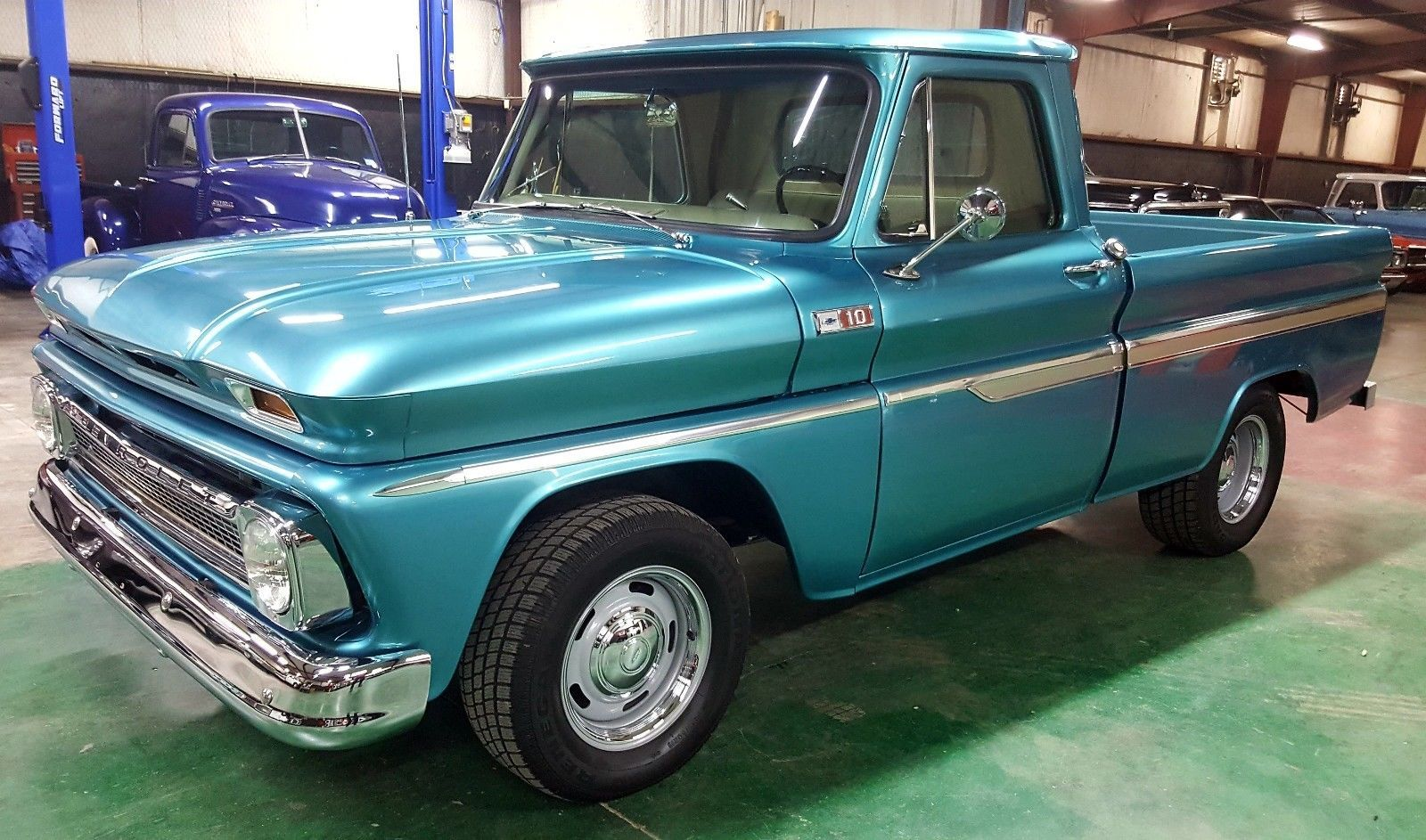 Cool Amazing 1965 Chevrolet C-10 Nice Truck Restored 1965 Chevrolet ...