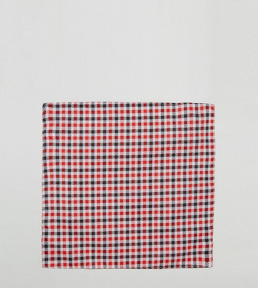 Get this Reclaimed Vintage's handkerchief now! Click for more details. Worldwide shipping. Reclaimed Vintage Inspired Pocket Square In Red Gingham Check - Red: Pocket Square by Reclaimed Vintage, Printed fabric, Check design, Square design, Dry clean, 50% Cotton, 50% Polyester, Exclusive to ASOS. Reclaimed Vintage Inspired is where fresh styles and vintage ideas meet. From style icons, end-of-line designs to old-school street brands, this range takes its inspiration from vintage shapes and…